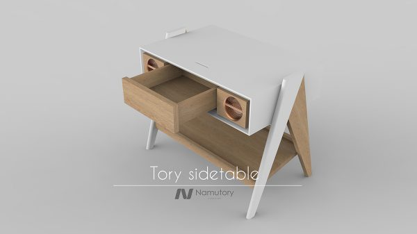 TORY SIDE TABLE